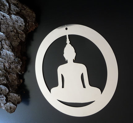 Buddha Edelstahl