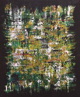 Cure III - 05/2019 - 50x60 cm - Acryl auf Leinwand