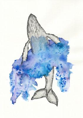The Haze - 09/2018 - 21x29,7 cm - Aquarell auf 170g Skizzenpapier