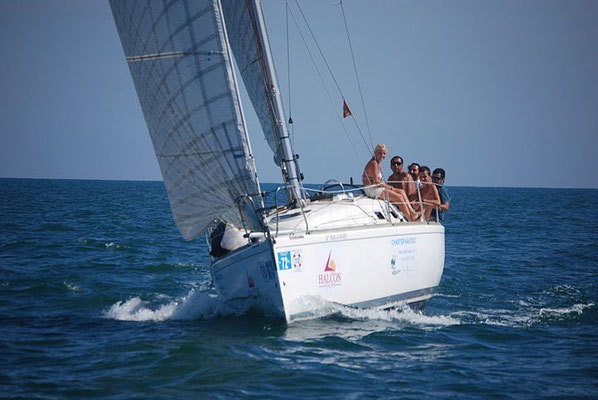 Paseo en velero Punta Umbria