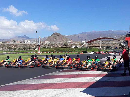 circuito de kart Tenerife