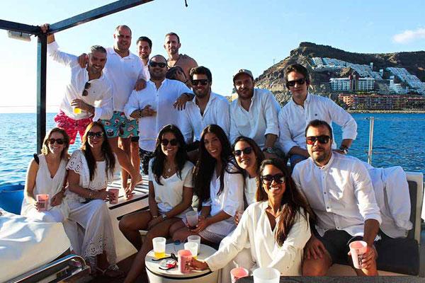 Boat party en las palmas de gran canaria