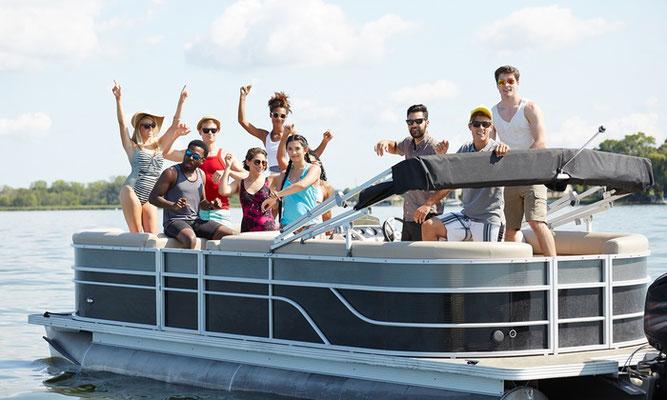 embarcación para grupos en Huelva
