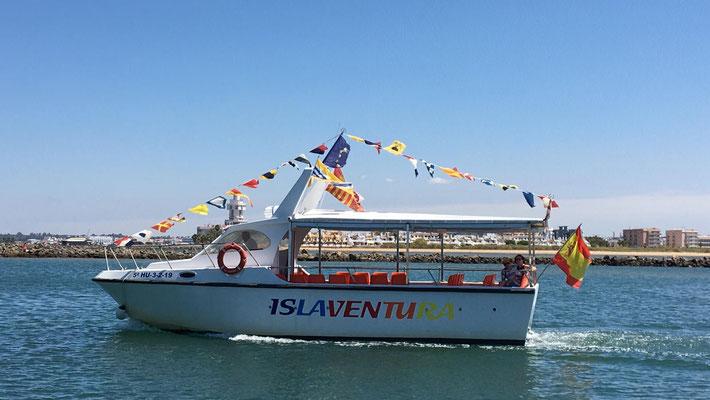 embarcaciones de gran capacidad en Huelva