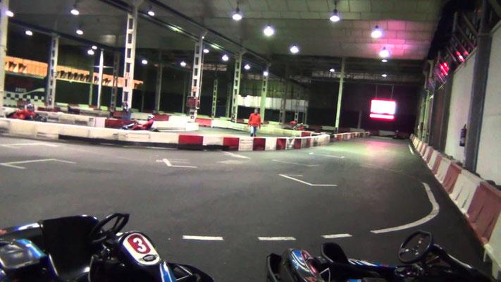 Carrera de kart en Cordoba