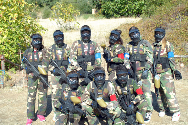 paintball al aire libre