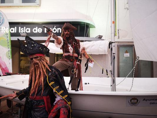 pasacalles piratas del caribe