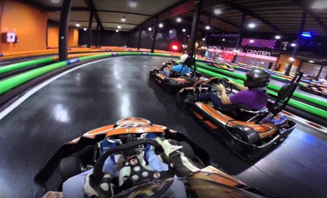 Circuito de kart indoor en Telde
