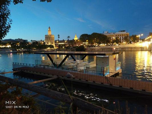 alquiler de barcos en Sevilla para fiestas