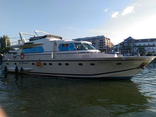 Celebraciones en barco por el Guadalquivir