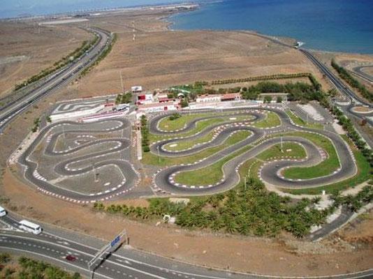 circuito de karts en Maspalomas