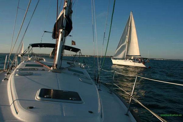 Embarcación para fiestas en Punta Umbria