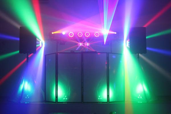 equipo de sonido e iluminación para boda en Cádiz