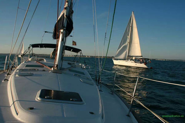 alquila tu barco de vela en Cádiz