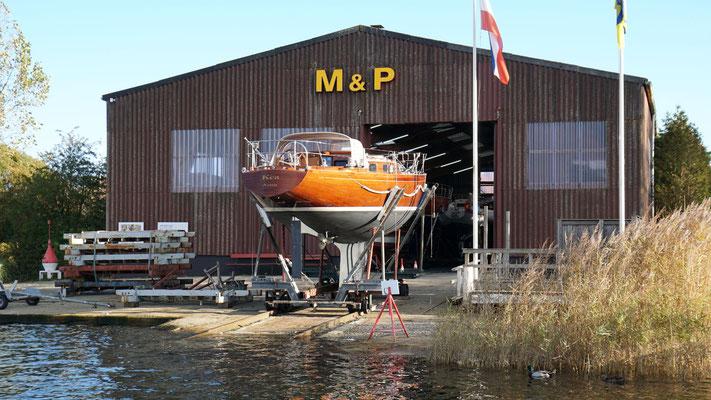 M&P Jachtwerft, Winterlager, Arnis Schlei