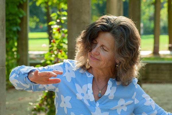 Jeanette Kankarowitsch-Zenker tanzend
