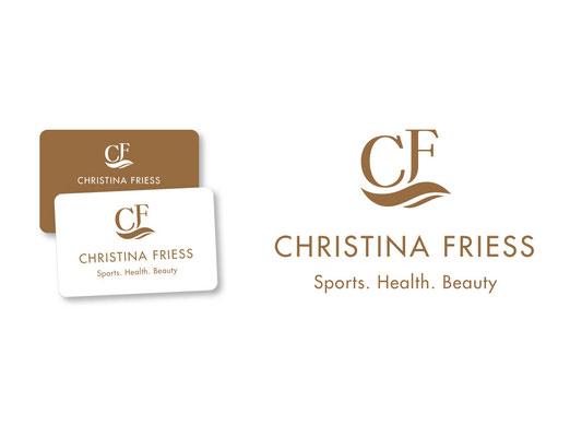 Logo & Card / Corporate Design / Christina Friess