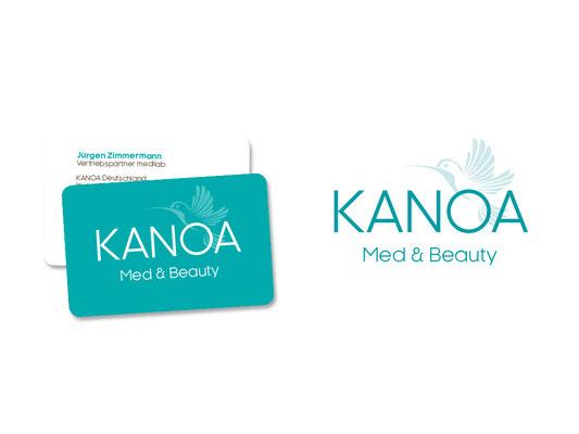 Logo & Card / Corporate Design / KANOA