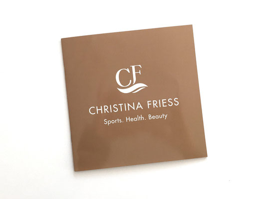 Booklet / Corporate Design / Christina Friess