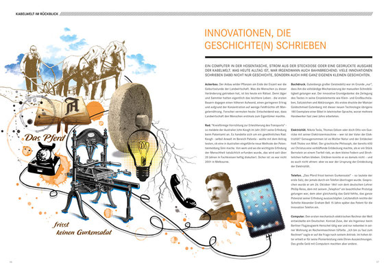 Collage / Company Magazine / LAPPKABEL