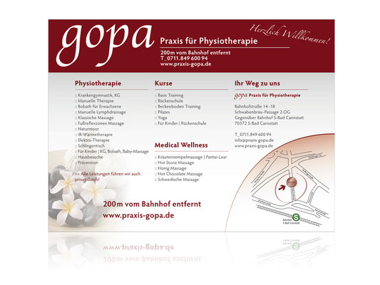 Poster / Corporate Design / gopa