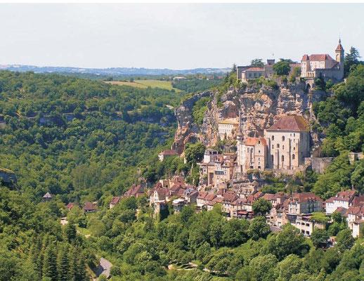 Rocamadour (40 minutes away)