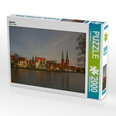 Lübeck Malerwinkel - 2000 Teile