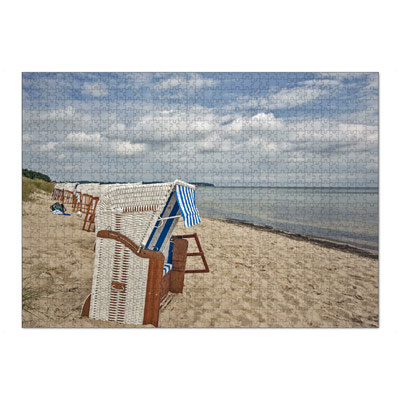 Am Ostseestrand von Thiessow