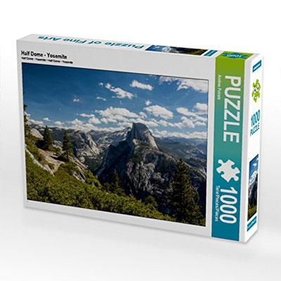 Half Dome, Yosemite - 1000 und 2000 Teile