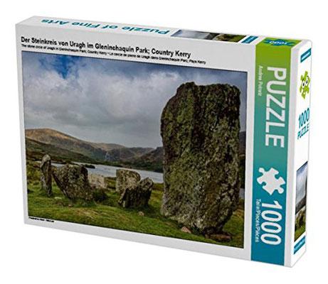 Der Steinkreis von Uragh im Gleninchaquin Park; Country Kerry  - 1000 und 2000 Teile