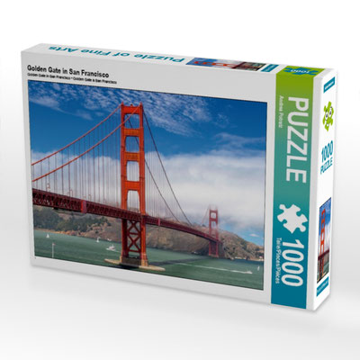 Golden Gate Bridge - 1000 und 2000 Teile
