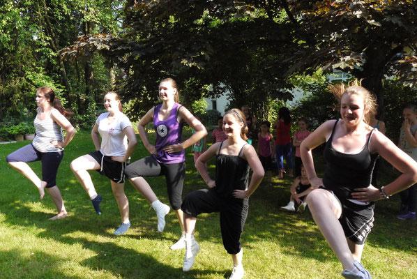 Freiluft-Training Sommer 2013