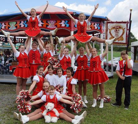 Schützenzug/Schützenfest mit Kirmes in Bäbrbroich 16.06.2012