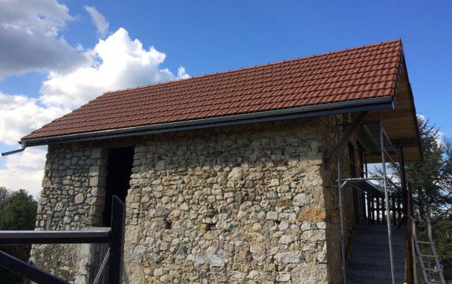 Maison de pays à Novalaise, Savoie, après réfection faite