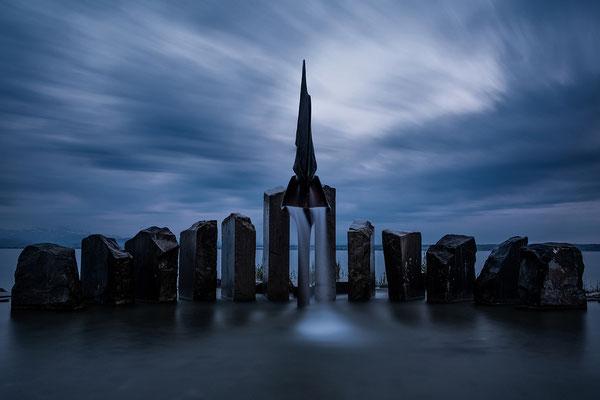 Blaue Stunde; Foto: Josef Beinrucker