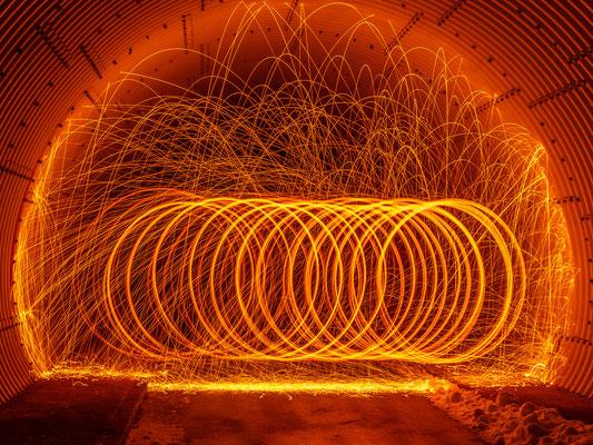 Licht im Tunnel, Foto: Günther Klein