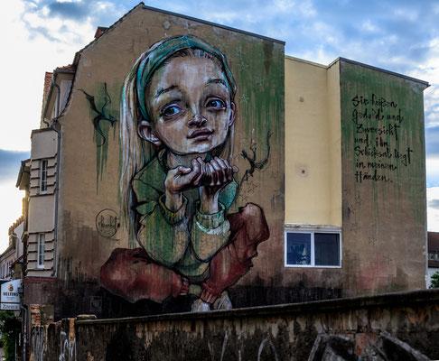 Graffiti, Foto: Reinhold Buchner