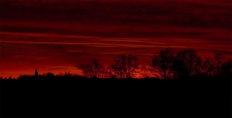 Der Himmel glüht, Foto: Christina Bäumler