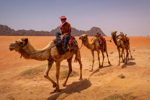 Wadi Rum, Foto: Josef Beinrucker