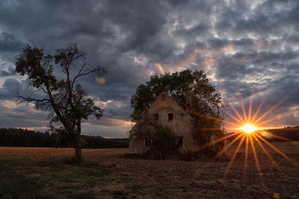 Ein Tag geht zu Ende, Foto: Elke Englmair