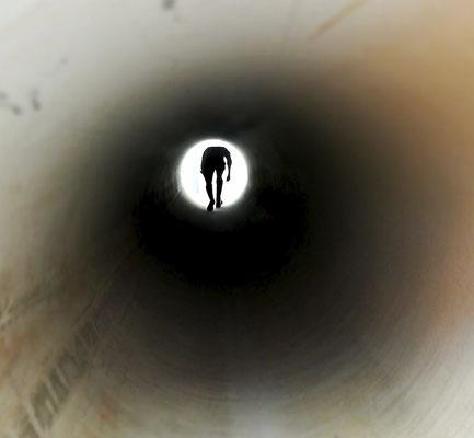 Bild 10: Licht am Ende
