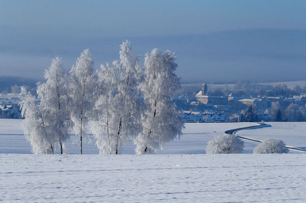 Wintertag, Foto: Annelies Neumann