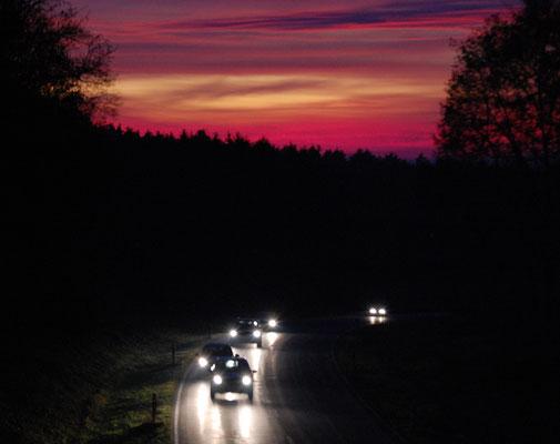 Novemberabend, Foto: Bernhard Czichon