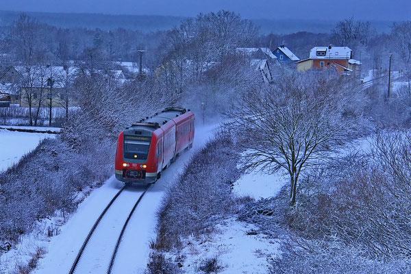 Bild 10: winterliche Bahnfahrt, Foto: Dieter Neumann