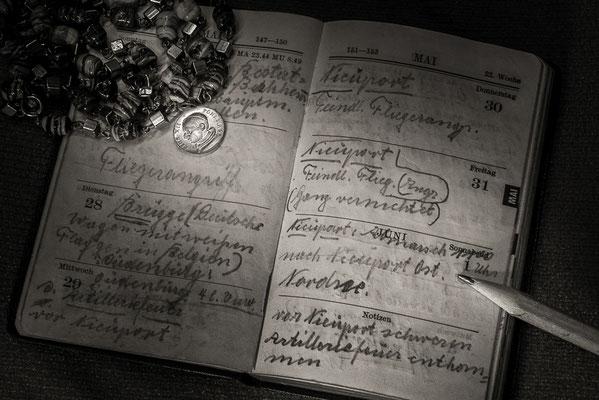 1940 Tagebuch eines Soldaten, Foto: Günther Klein