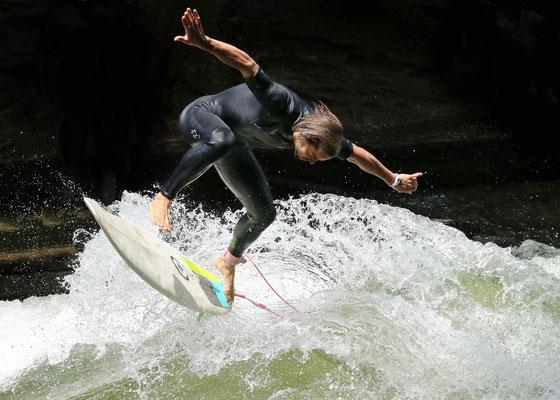 Surfer, Foto: Helmut Meier