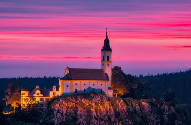 Sonnenuntergang; Foto: Reinhold Buchner
