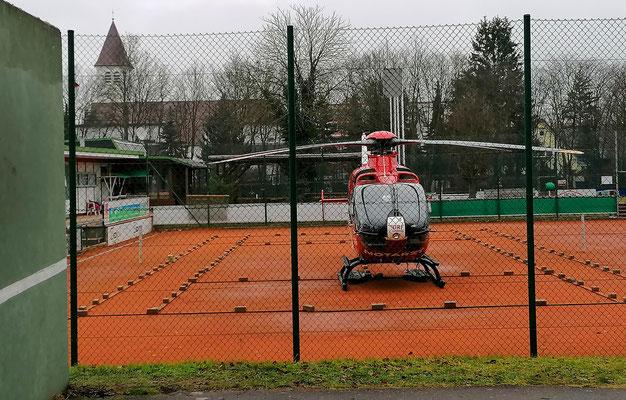 Tenniscopter, Foto: Richard Winter