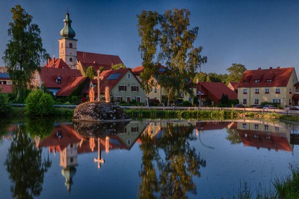 Dorfweiher in Beidl; Foto: Elke Englmair