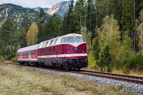 Bild 02: Oldtimer auf Schienen, Foto: Reinhold Buchner